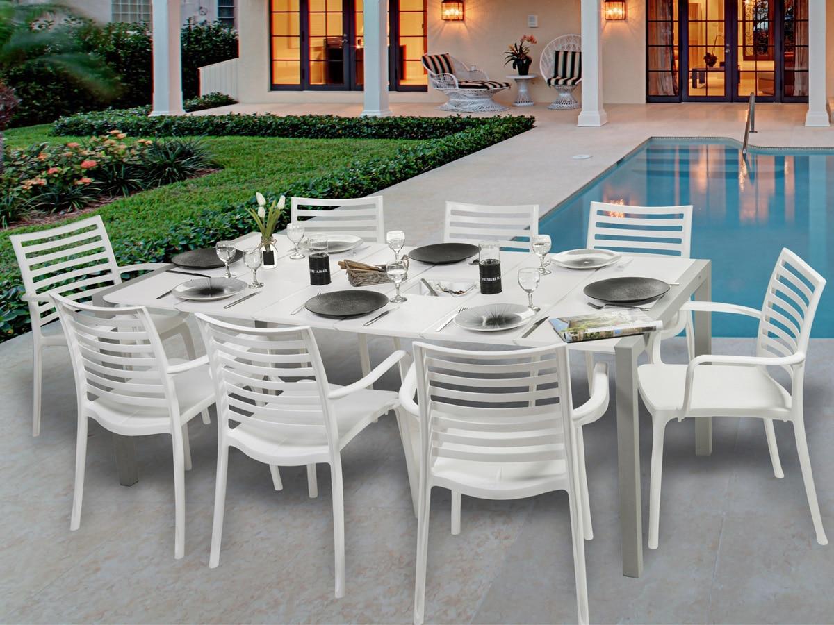 Comment nettoyer des chaises de jardin en plastique blanc?